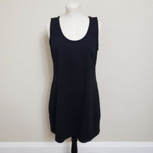 Athleta Shayla ponte shift dress Black Large